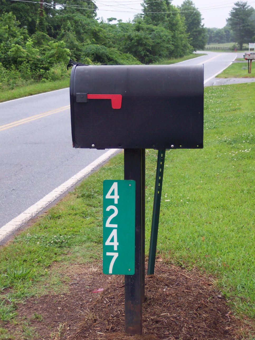 Reflective Address Signs North Newton Township